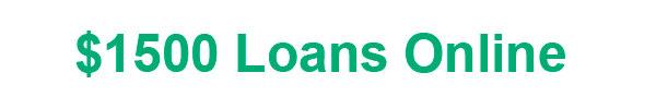 1500 loan